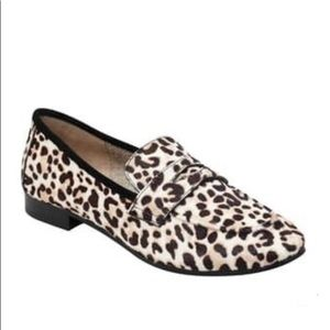 MARC FISHER Calf Hair Penny Loafer size 8M
